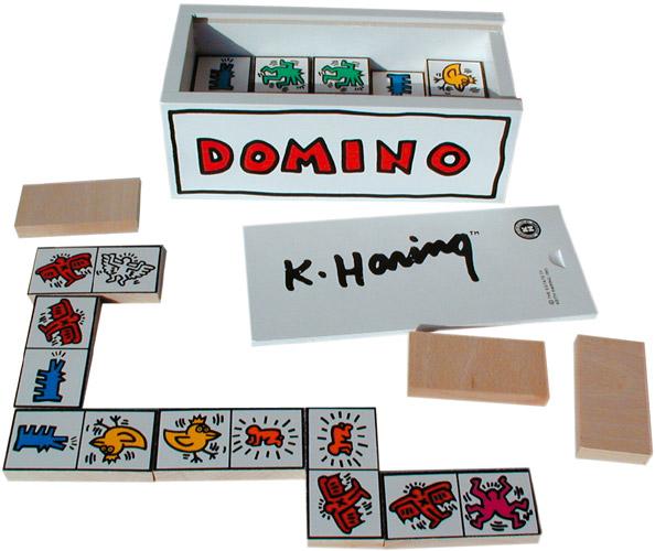 Dominó para niños de Keith Haring