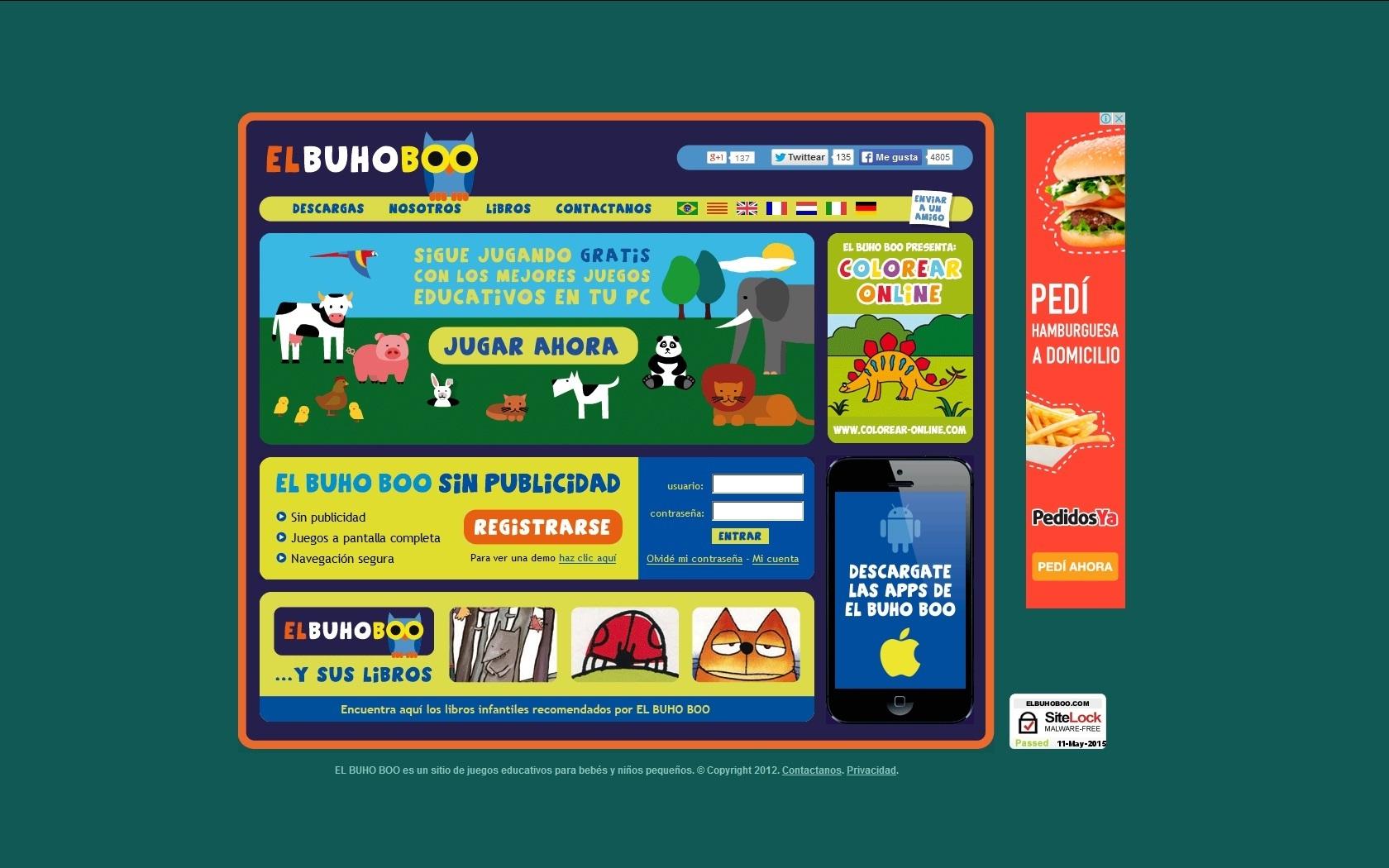 Apps móviles con juegos para niños 1