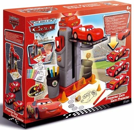 Cars the movie projector juguetes - Juguetes cars disney ...