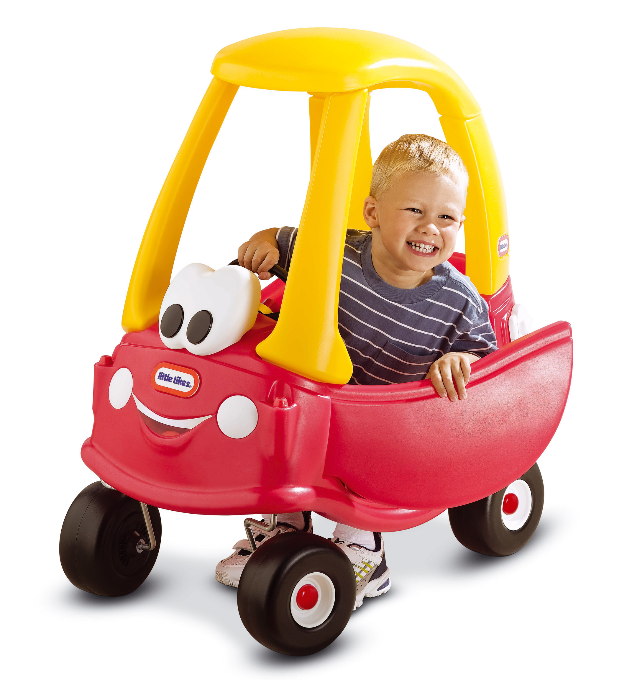 Diversi n al volante con cozy coupe juguetes for Little tikes motorized vehicles