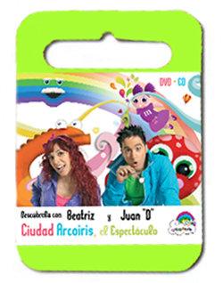 DVD Ciudad Arcoiris el espectáculo
