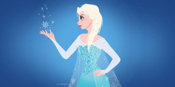Elsa de Frozen