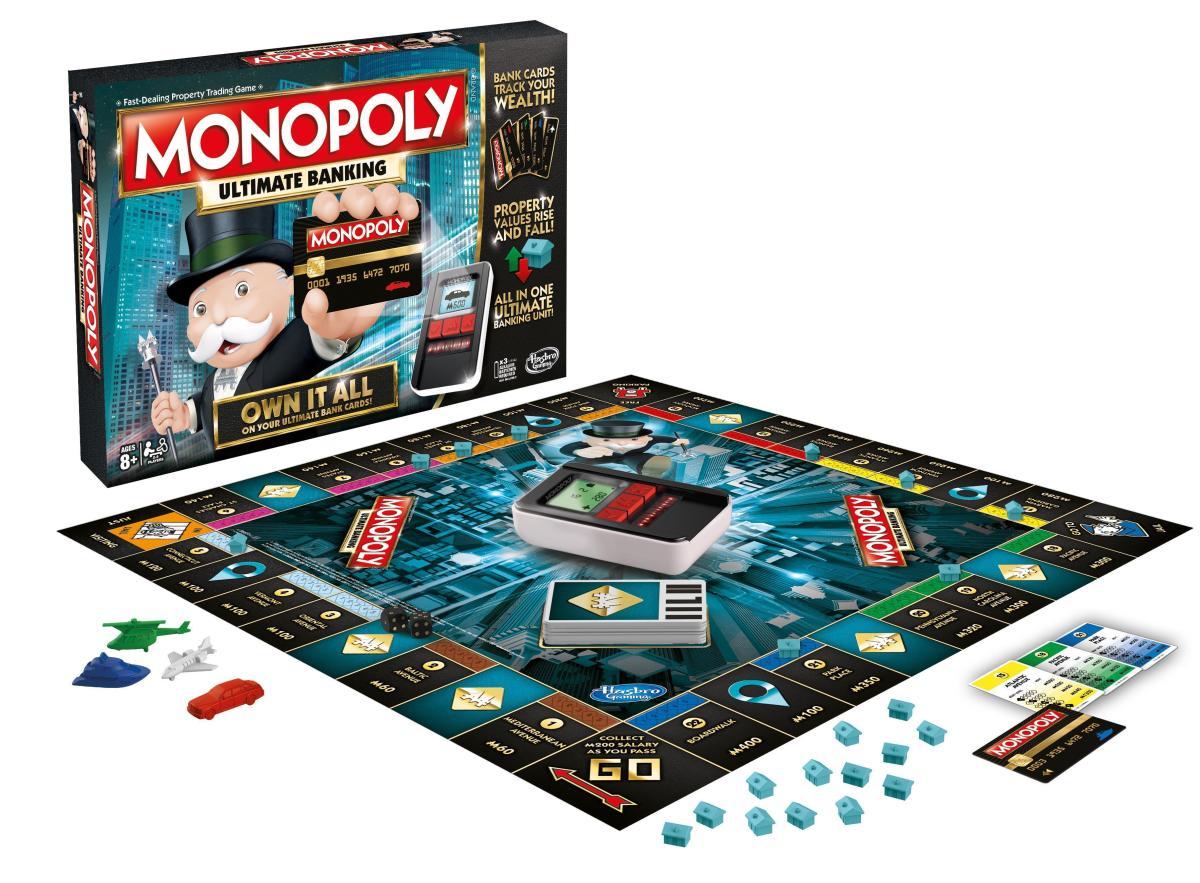 Feria del Juguete de Nueva York - monopoly ultimate banking