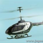 Helicoptero Eurocopter EC-135 radio control en vuelo