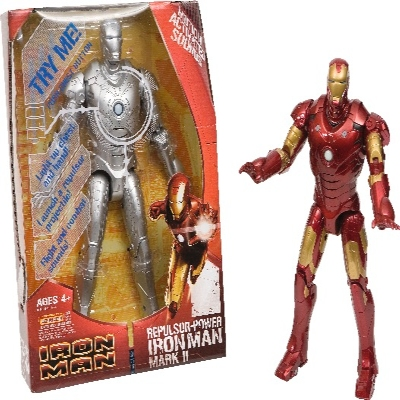 Iron Man Figura Repulsor Power