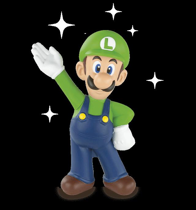 Juguetes de Super Mario - Luigi