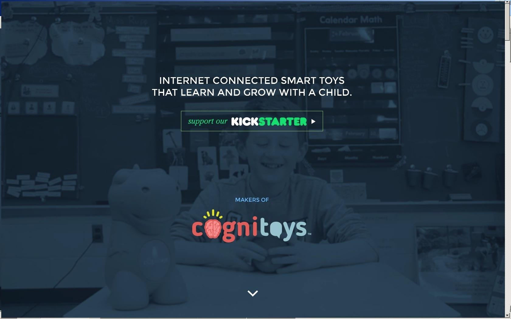 Juguetes inteligentes Cognitoys 1