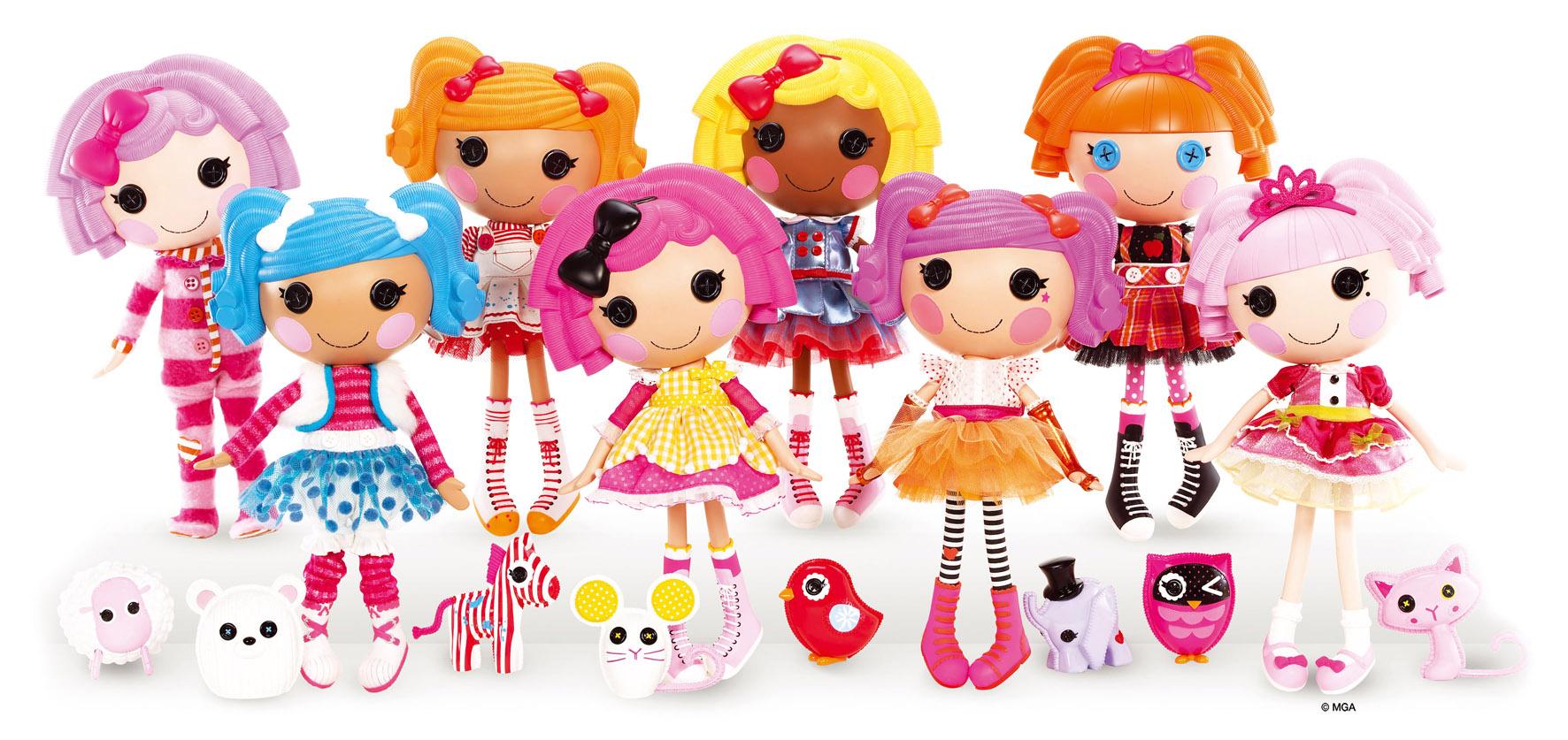 son un conjunto de muñecas basadas en las clásicas muñecas de