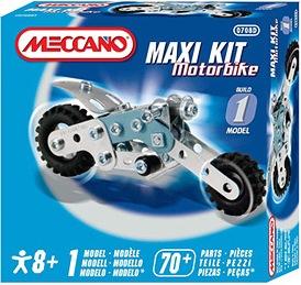 Meccano Metalic Maxi Kit Motorbike