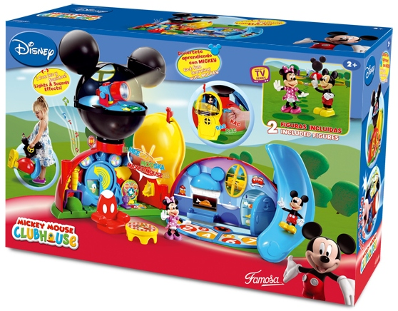Mickey mouse club house casa juguetes - Juguetes la casa de mickey mouse ...