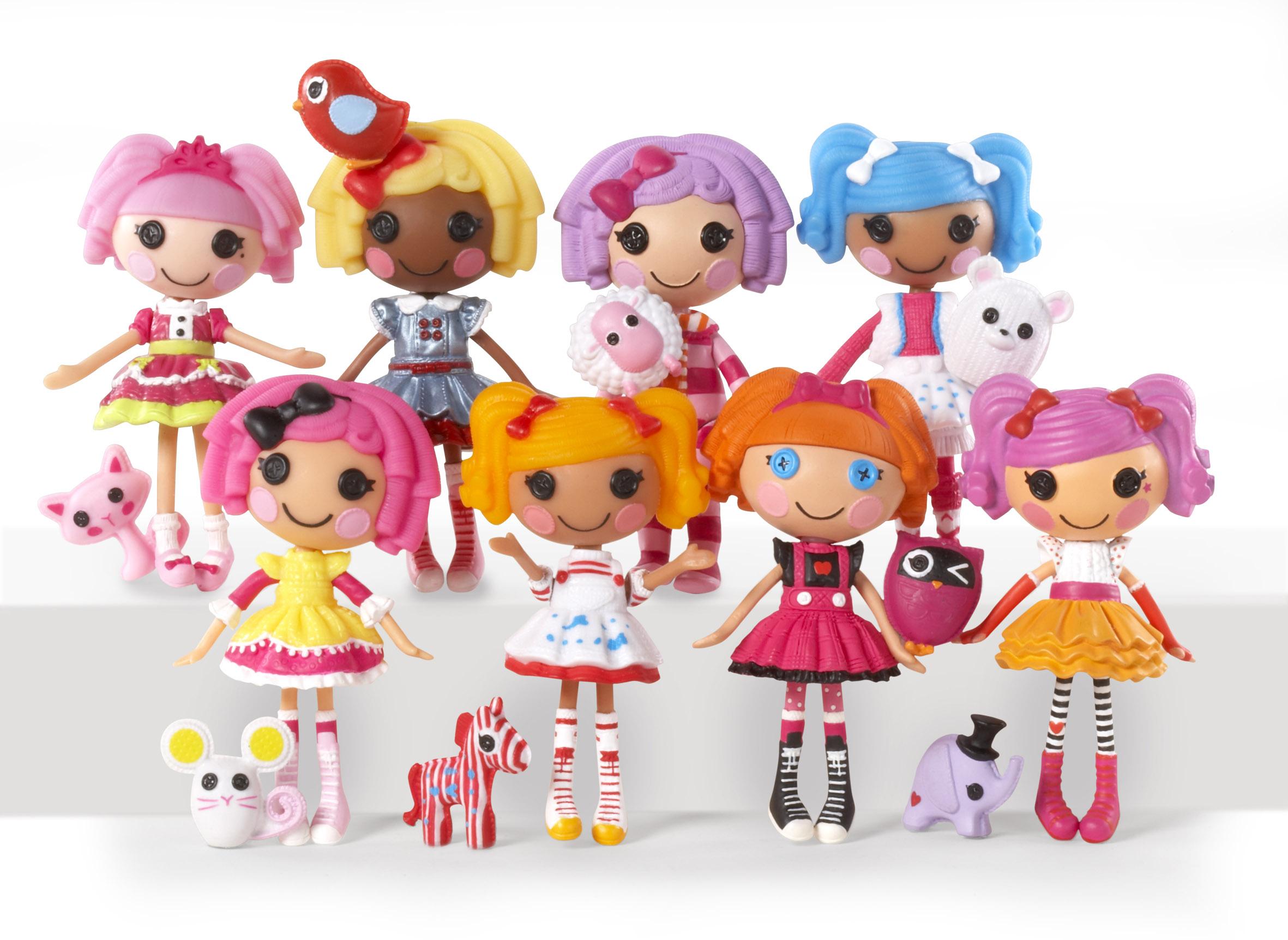 Mini Lalaloopsy, muñecas que caben en la palma de la mano