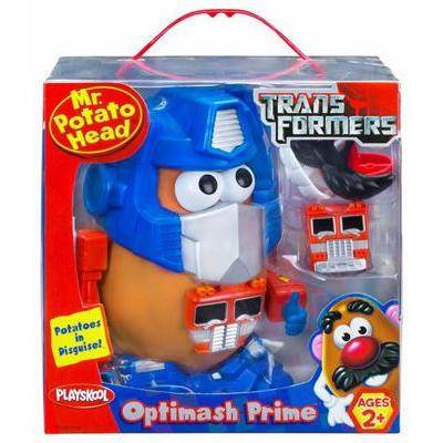 Mr Potato Transformers Optimus Prime