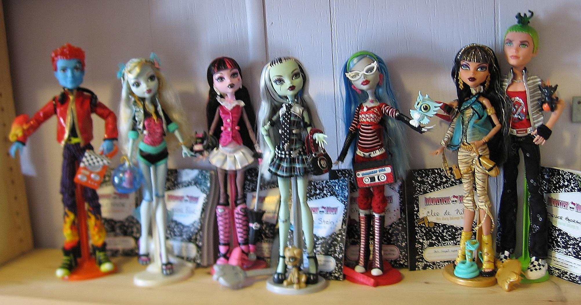 Conoces A Todas Las Muñecas Monster High