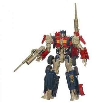 Optimus prime y tu peque, luchando por la paz del universo 1