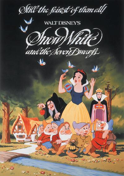 Puzzles Disney Blancanieves y los siete enanitos