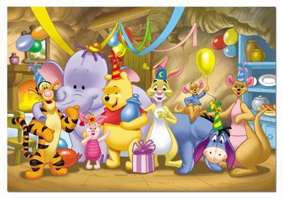 Diviertete Con Winnie De Pooh Y Sus Amigos