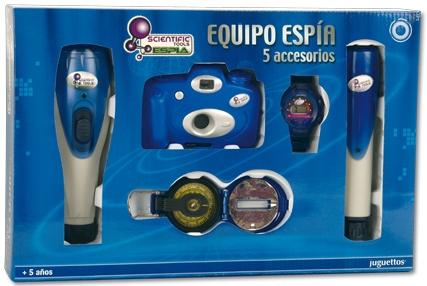 Scientific Tools Equipo de Espía
