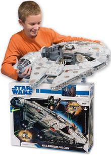 Star Wars Halcón Milenario detalle
