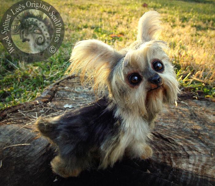 Un artista convierte a los cachorros del mundo animal en increíbles juguetes 10