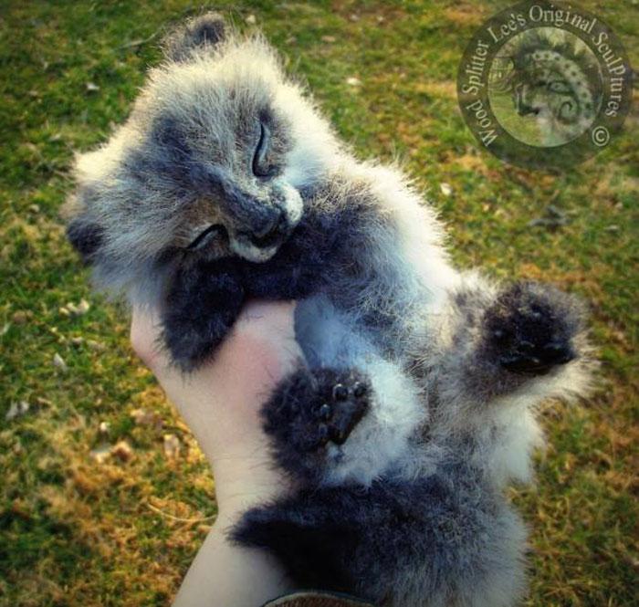 Un artista convierte a los cachorros del mundo animal en increíbles juguetes 11