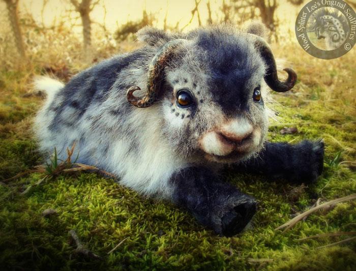 Un artista convierte a los cachorros del mundo animal en increíbles juguetes 18