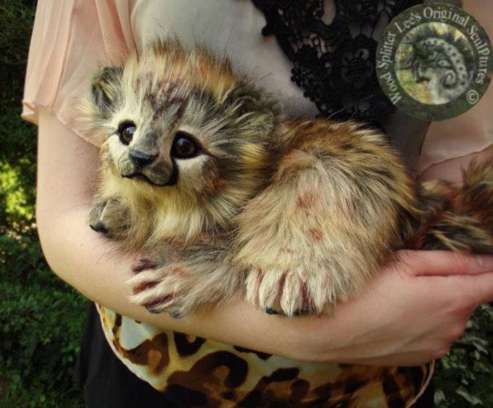 Un artista convierte a los cachorros del mundo animal en increíbles juguetes 2