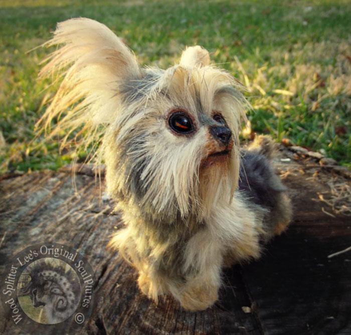 Un artista convierte a los cachorros del mundo animal en increíbles juguetes 8