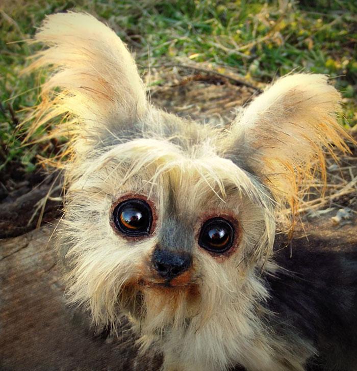 Un artista convierte a los cachorros del mundo animal en increíbles juguetes 9