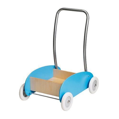 andador azul para bebé