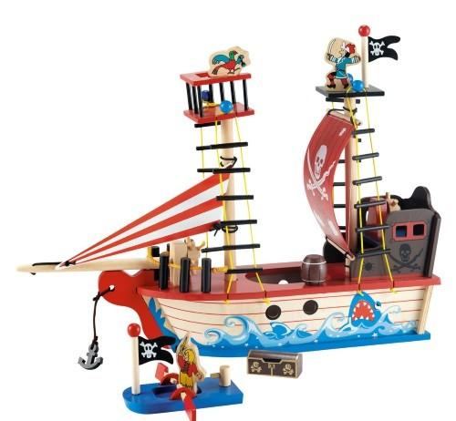 barco de pirata