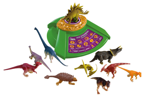 base de dinosaurios