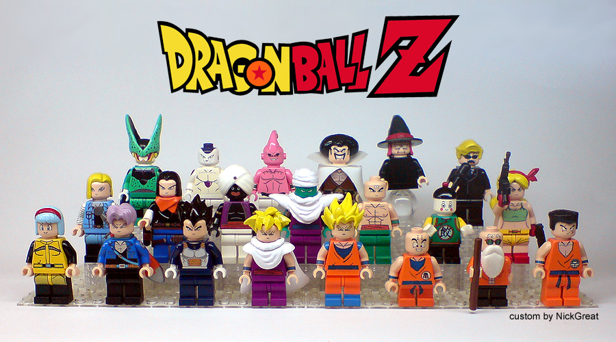 Dragon Ball Z LEGO Sets
