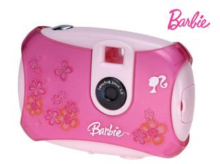 cámara de fotos de barbie