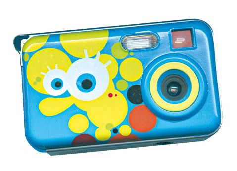 cámara de fotos de Bob Esponja