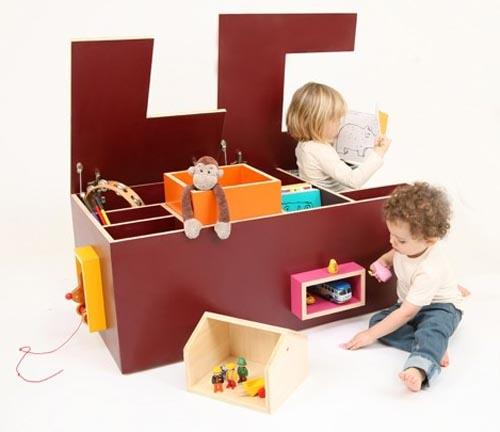 Un caj n para guardar los juguetes con mucho estilo juguetes - Cajon para juguetes ...