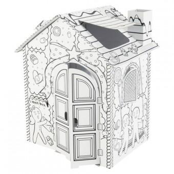 Casa de cartón Candy 1