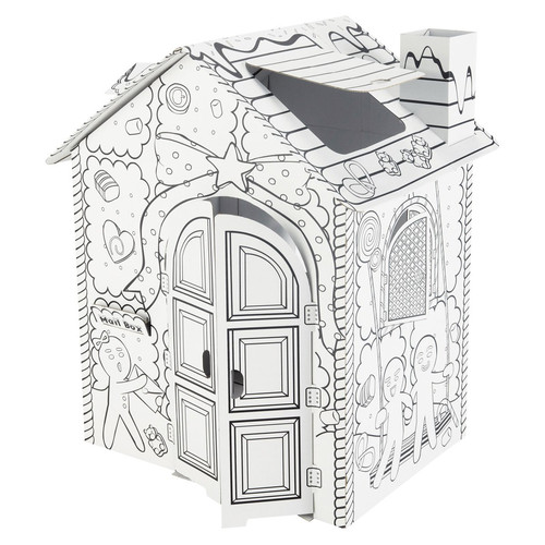 casa de cartón candy