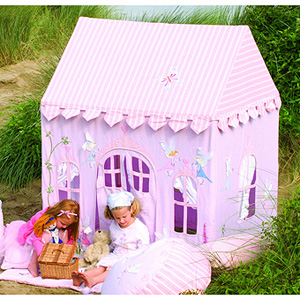 Large fairy cottage juguetes - Casita tela ninos ...