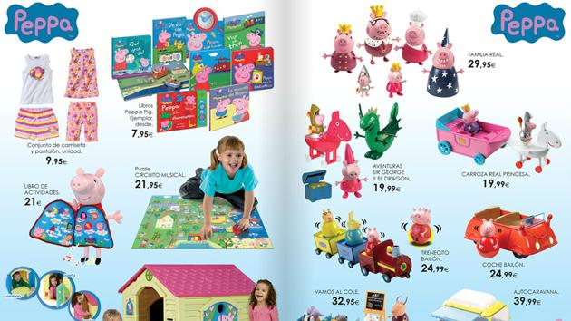 Catu00e1logo de juguetes 2014 de El Corte Inglu00e9s