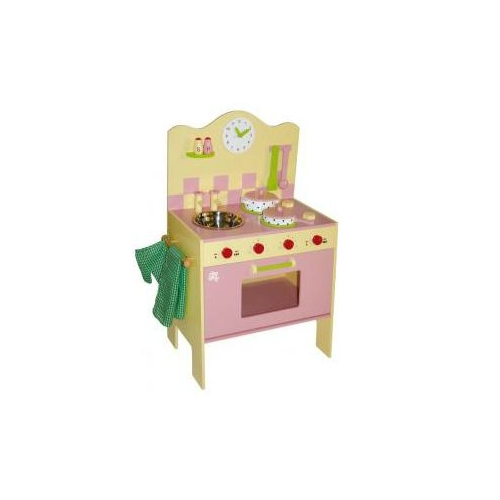 Cocina de madera con utensilios juguetes - Cocina lidl juguete ...