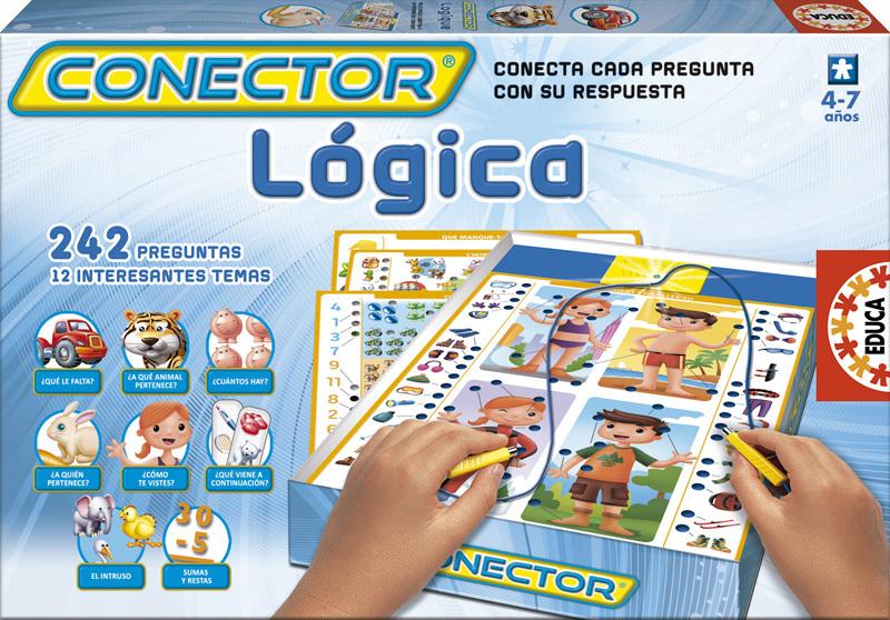 conector lógica educa juego