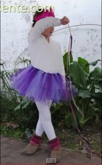 disfraz casero para niña de princesa