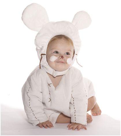 Un bonito y cómodo disfraz para tu bebé