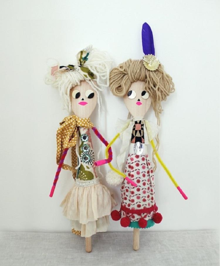 Divertidas muñecas