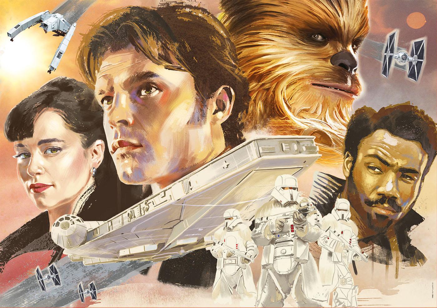 Educa nos trae los puzzles oficiales de Han Solo: una historia de Star Wars 1