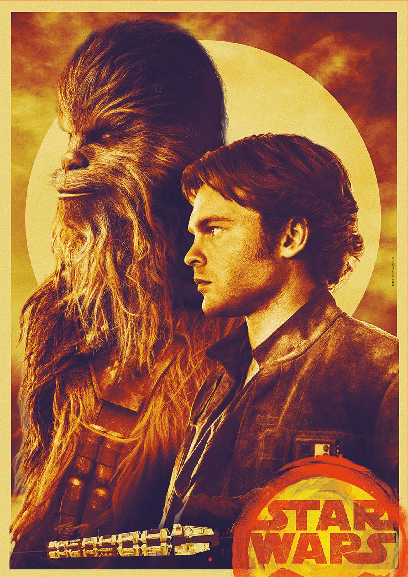 Educa nos trae los puzzles oficiales de Han Solo: una historia de Star Wars 2