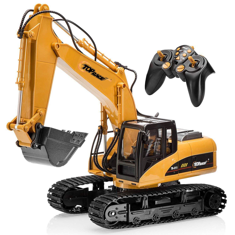 5 vehículos de construcción teledirigidos que harán las delicias de tus hijos 1