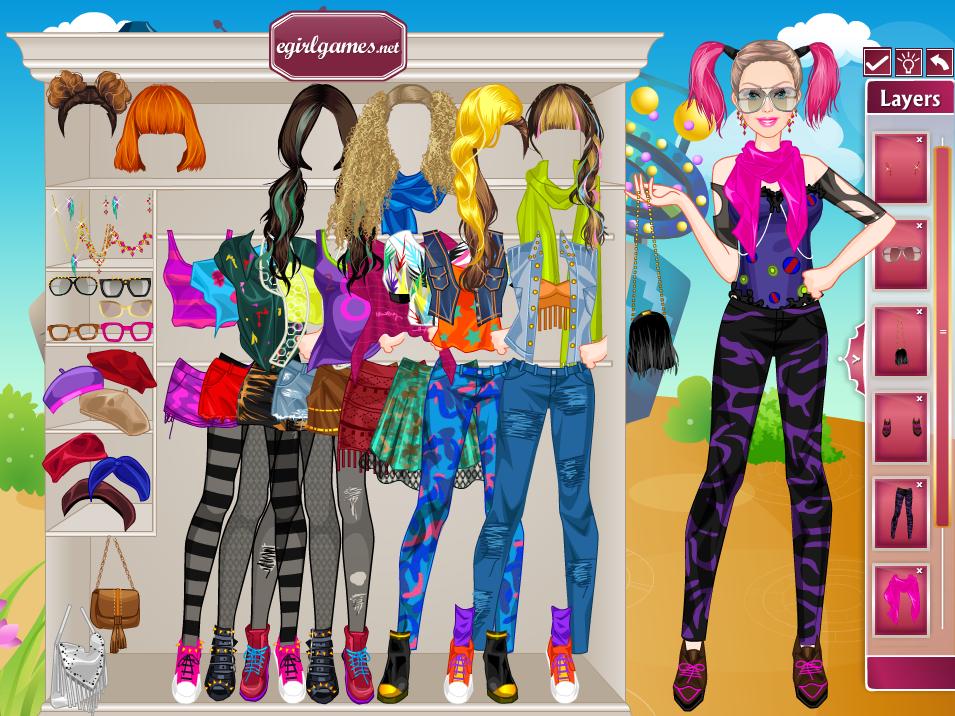 juego -  Barbie Hipster Princess Dress-up