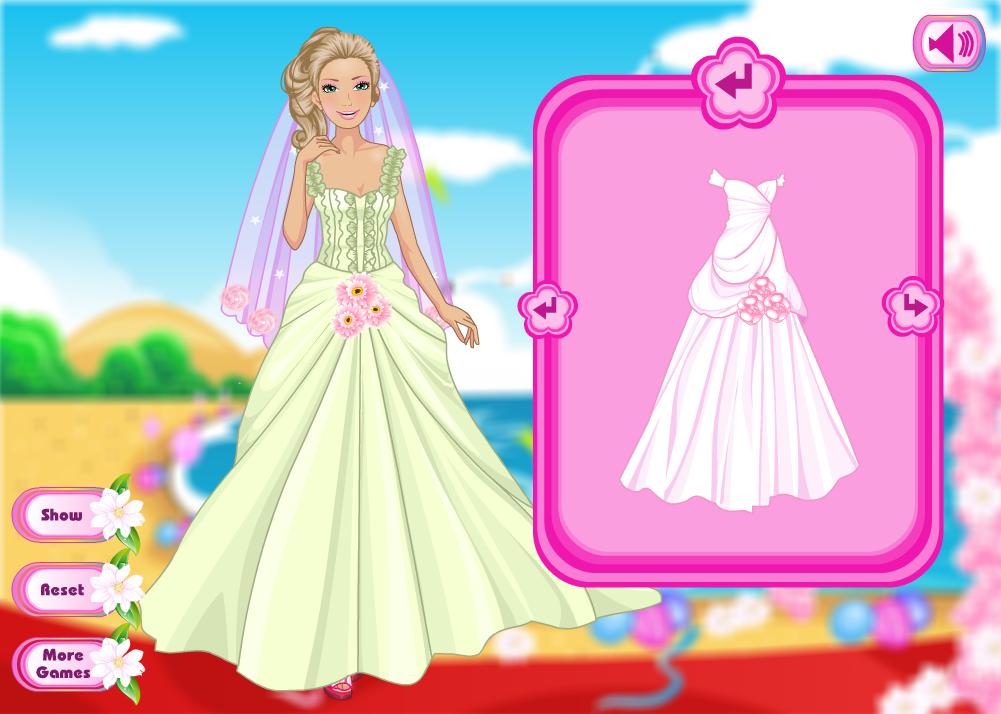 juego - Glam Barbie Bride