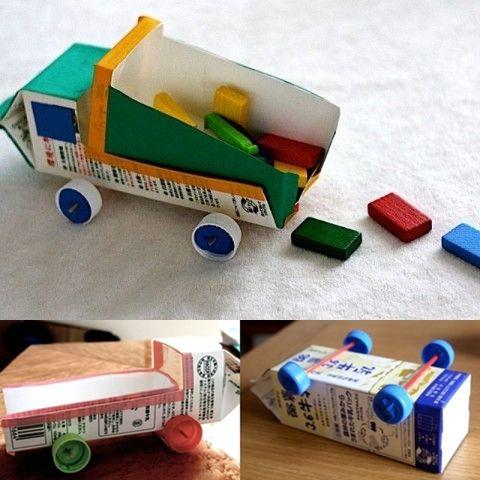juguete reciclado